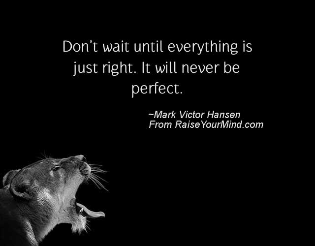 Never Picture Perfect