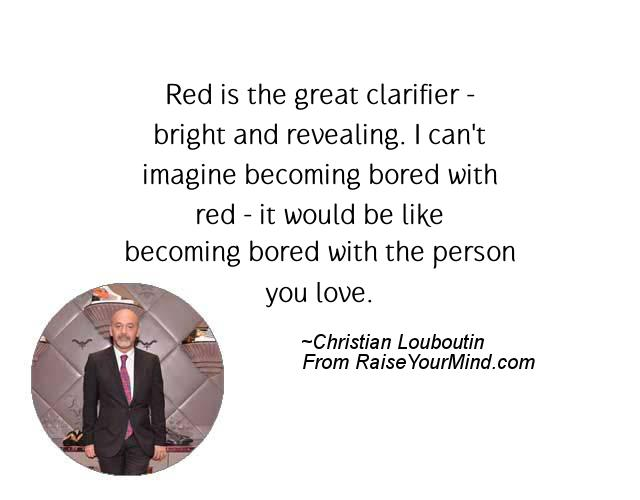christian louboutin quotes sayings