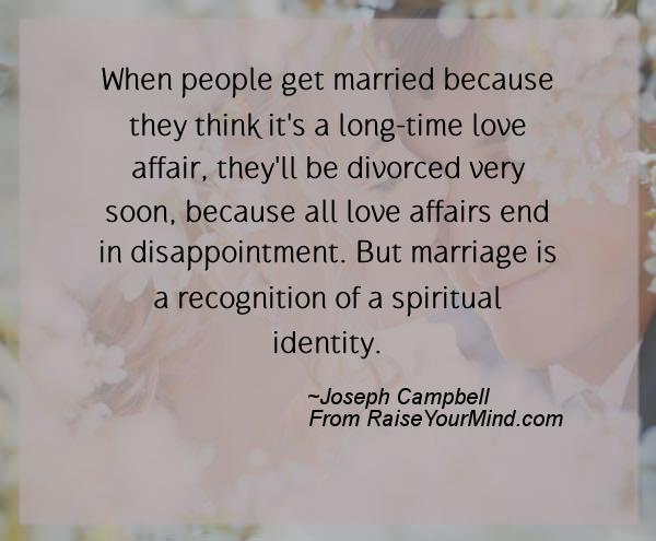 married quotes sayings verses advice raise your mind