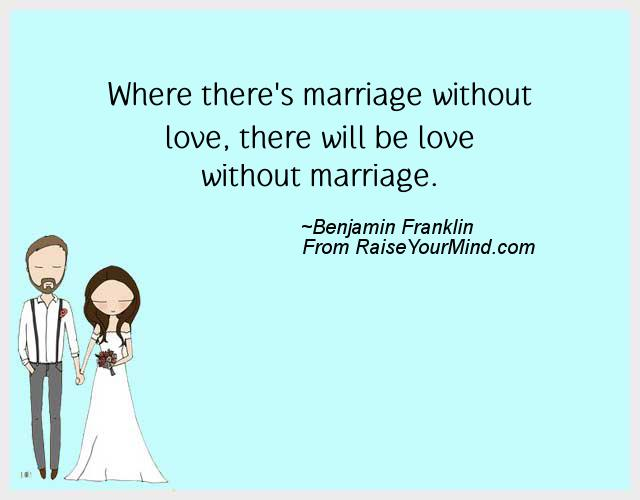 Marriage without love essay