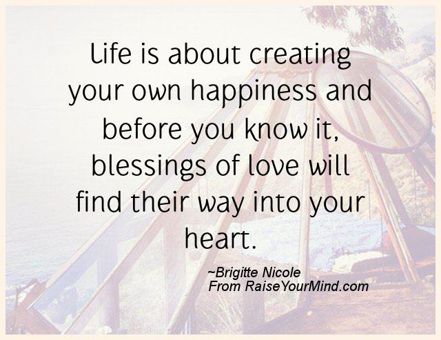 Beautiful A Nice Happiness Quote From Brigitte Nicole   Proverbes Happiness