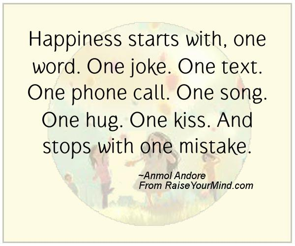 Phone Call Quotes Simple Happiness Starts With One Wordone Jokeone Textone Phone