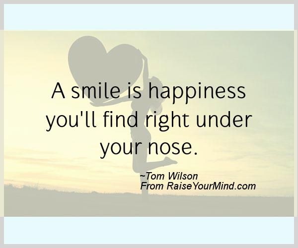 quotations on smile and happiness - photo #20