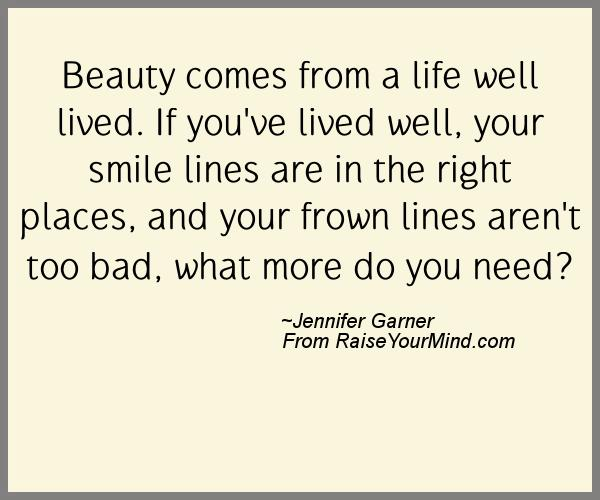 A Nice Happiness Quote From Jennifer Garner   Proverbes Happiness