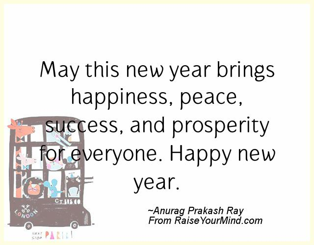 New Years Wishes quotes Quotes, Sayings, Verses & Advice - Raise ...