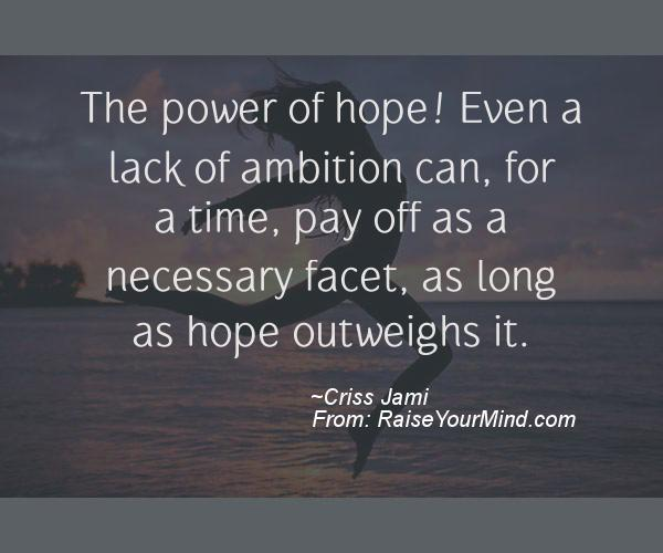 The Power Of Hope Quotes