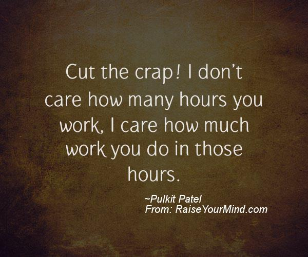 Crap quotes sayings