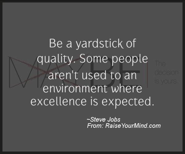 A Nice Motivational Quote From Steve Jobs