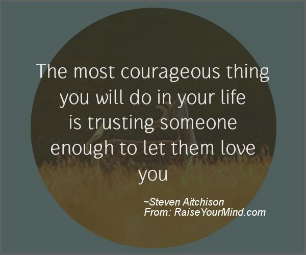 A nice motivational quote from Steven Aitchison