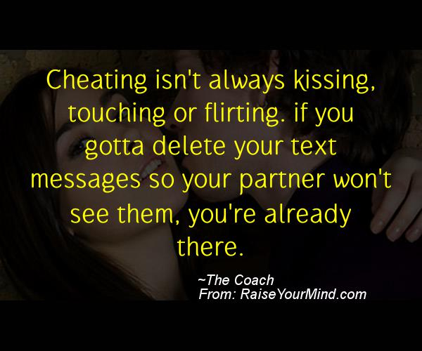 texting cheating quotes