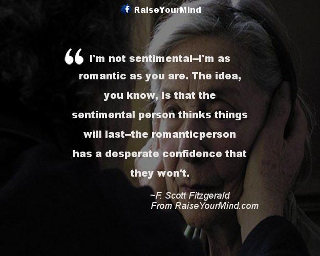 sentimentality   Raise Your Mind