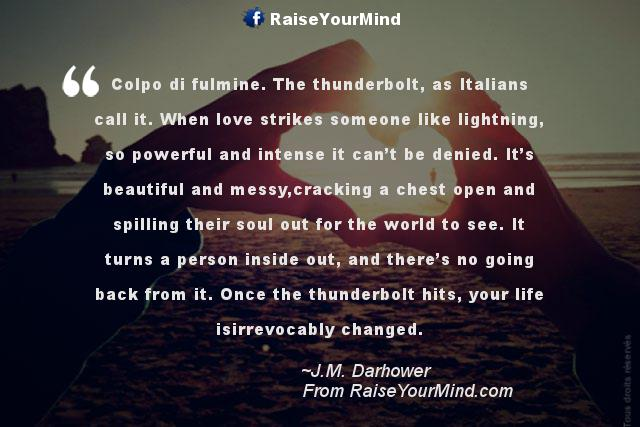 Love Quotes, Sayings & Verses | Colpo di fulmine. The ...