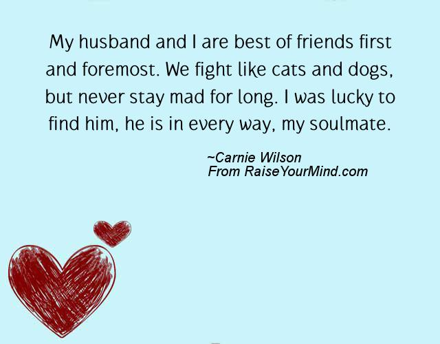 Friendship Verses & Quotes | My husband and I are best of ...
