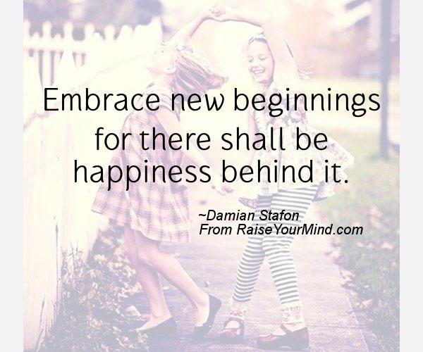 A nice happiness quote from Damian Stafon - Proverbes Happiness