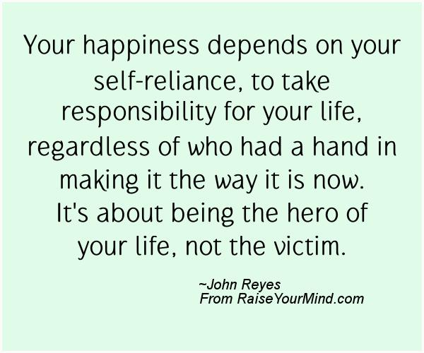 A nice happiness quote from John Reyes  - Proverbes Happiness