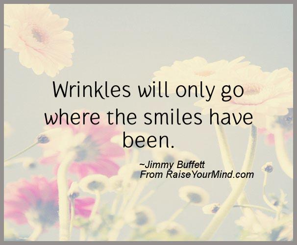 A nice happiness quote from Jimmy Buffett - Proverbes Happiness