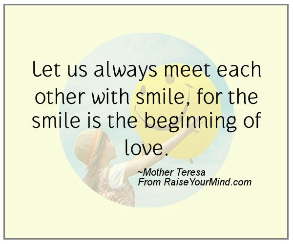A nice happiness quote from Mother Teresa - Proverbes Happiness