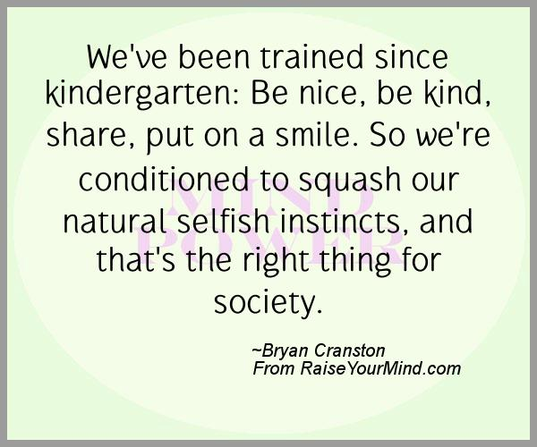 A nice happiness quote from Bryan Cranston - Proverbes Happiness