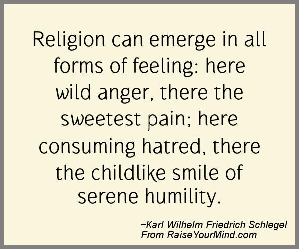 A nice happiness quote from Karl Wilhelm Friedrich Schlegel - Proverbes Happiness