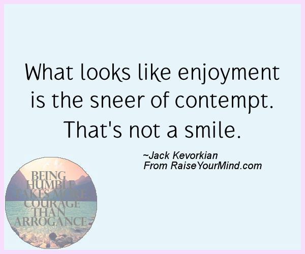 A nice happiness quote from Jack Kevorkian - Proverbes Happiness