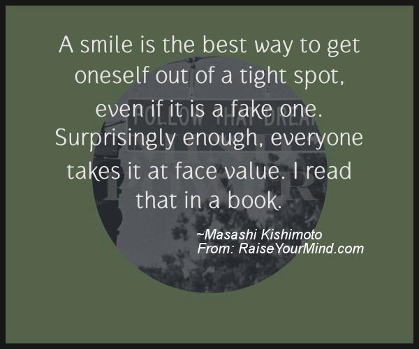 A nice motivational quote from Masashi Kishimoto