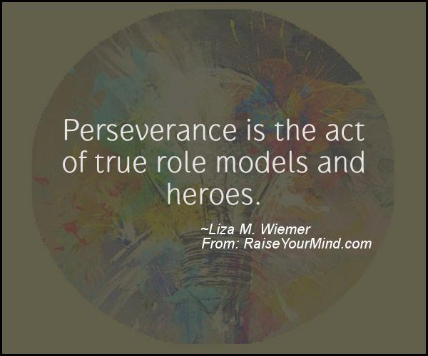 A nice motivational quote from Liza M. Wiemer