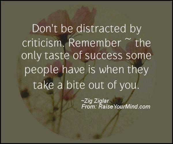 A nice motivational quote from Zig Ziglar