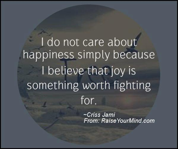A nice motivational quote from Criss Jami