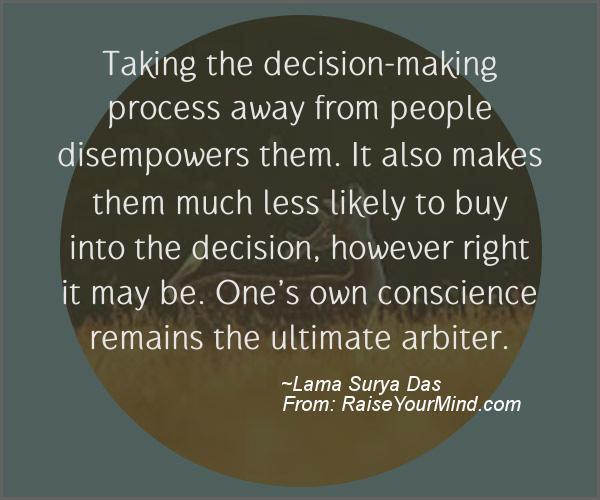 A nice motivational quote from Lama Surya Das