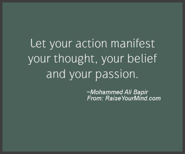 A nice motivational quote from Mohammed Ali Bapir