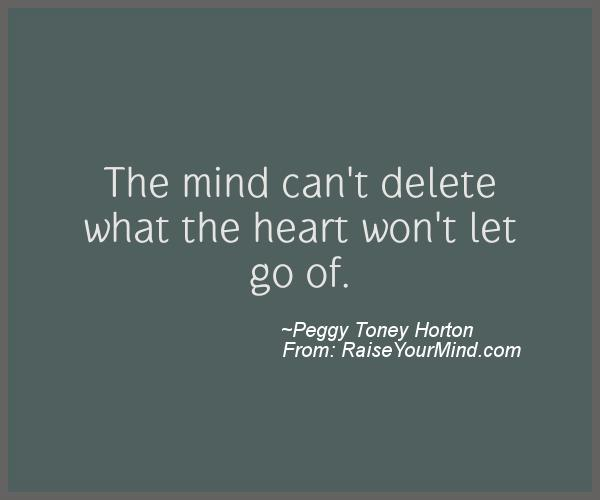 A nice motivational quote from Peggy Toney Horton