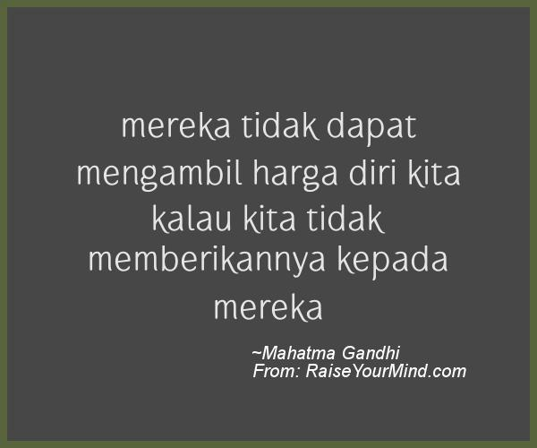 A nice motivational quote from Mahatma Gandhi