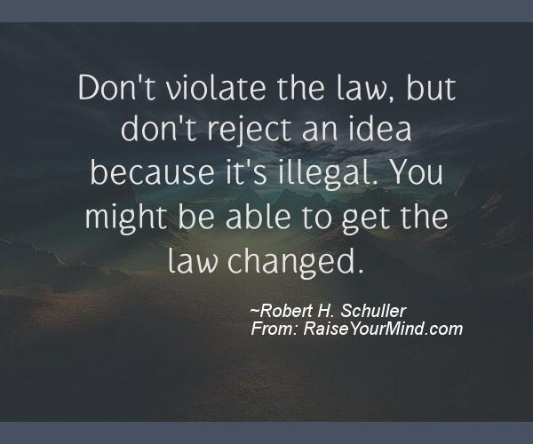 A nice motivational quote from Robert H. Schuller
