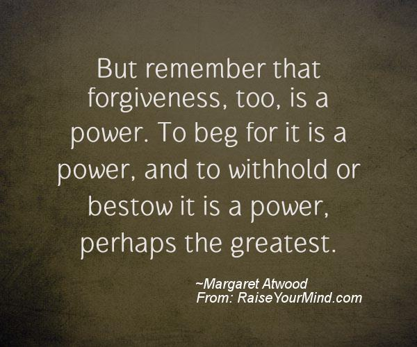 A nice motivational quote from Margaret Atwood