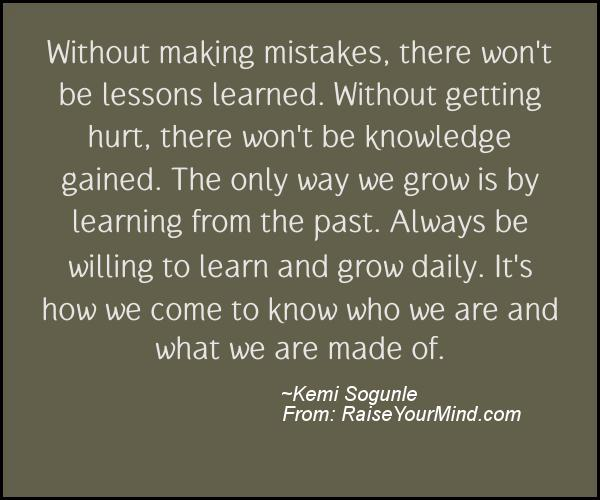 A nice motivational quote from Kemi Sogunle