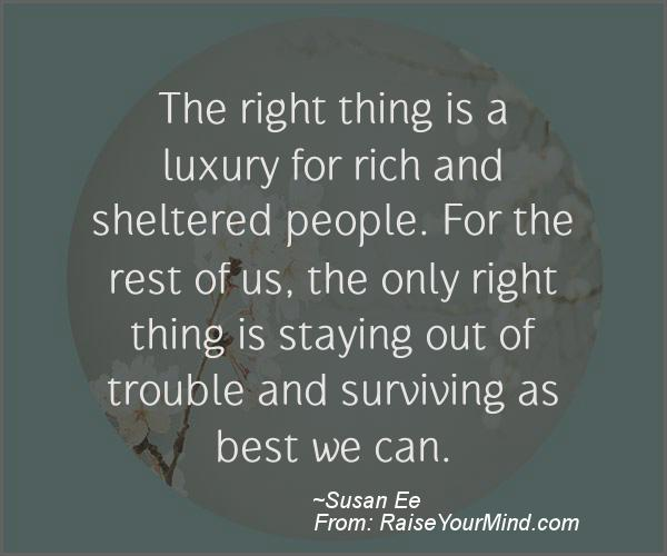 A nice motivational quote from Susan Ee