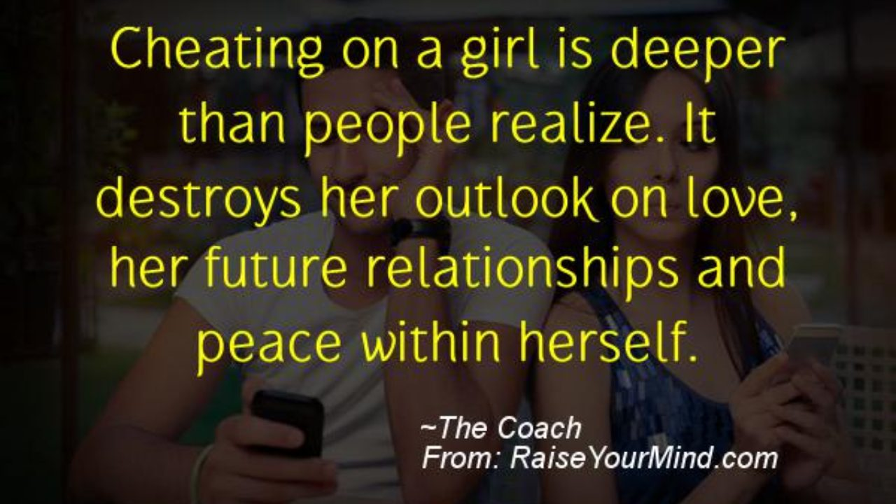 Cheating Verses & Funny Quotes   Cheating on a girl is ...