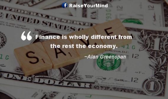 finance vs economy - Finance quote image