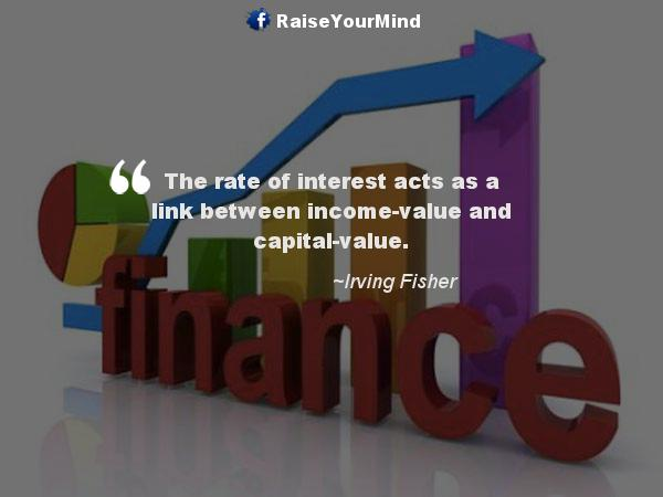 interest rates - Finance quote image