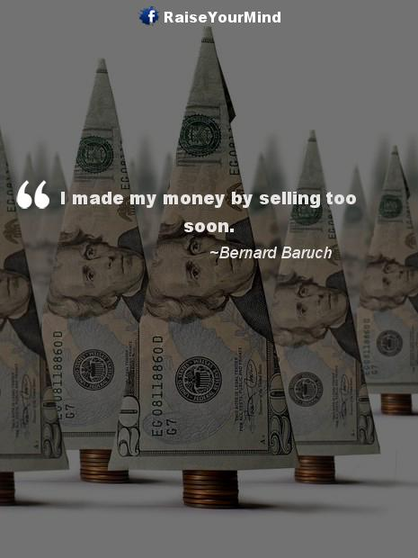 selling stocks - Finance quote image
