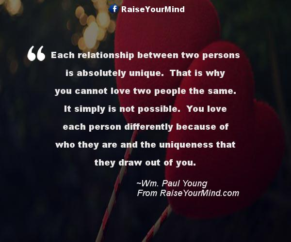 Love Quotes, Sayings & Verses | Each relationship between ...